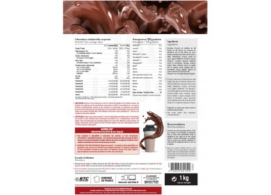 STC Nutrition Gainer Pure Performance 1 kg - chocolat