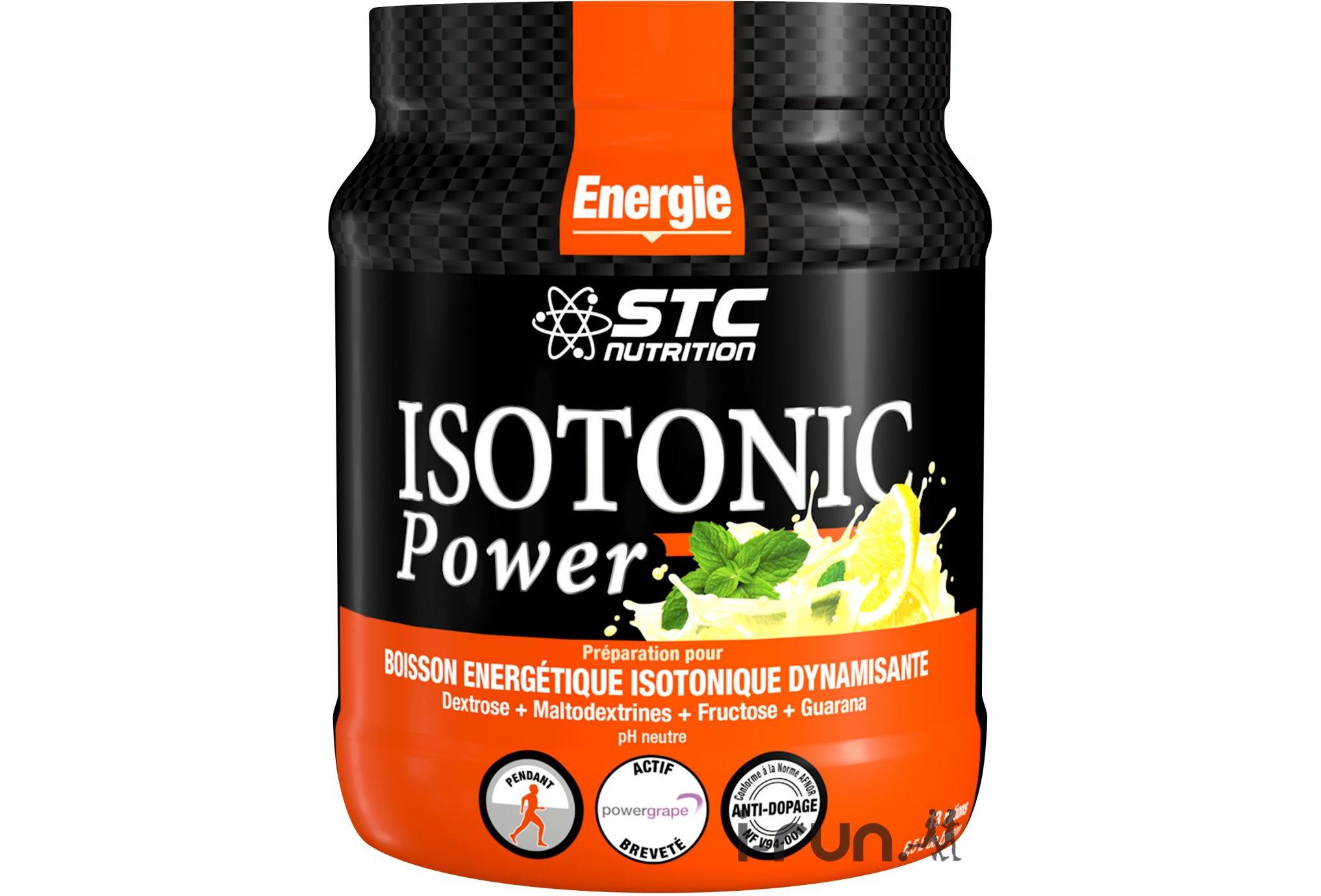 STC Nutrition Isotonic Power citron 525 g Diététique Boissons
