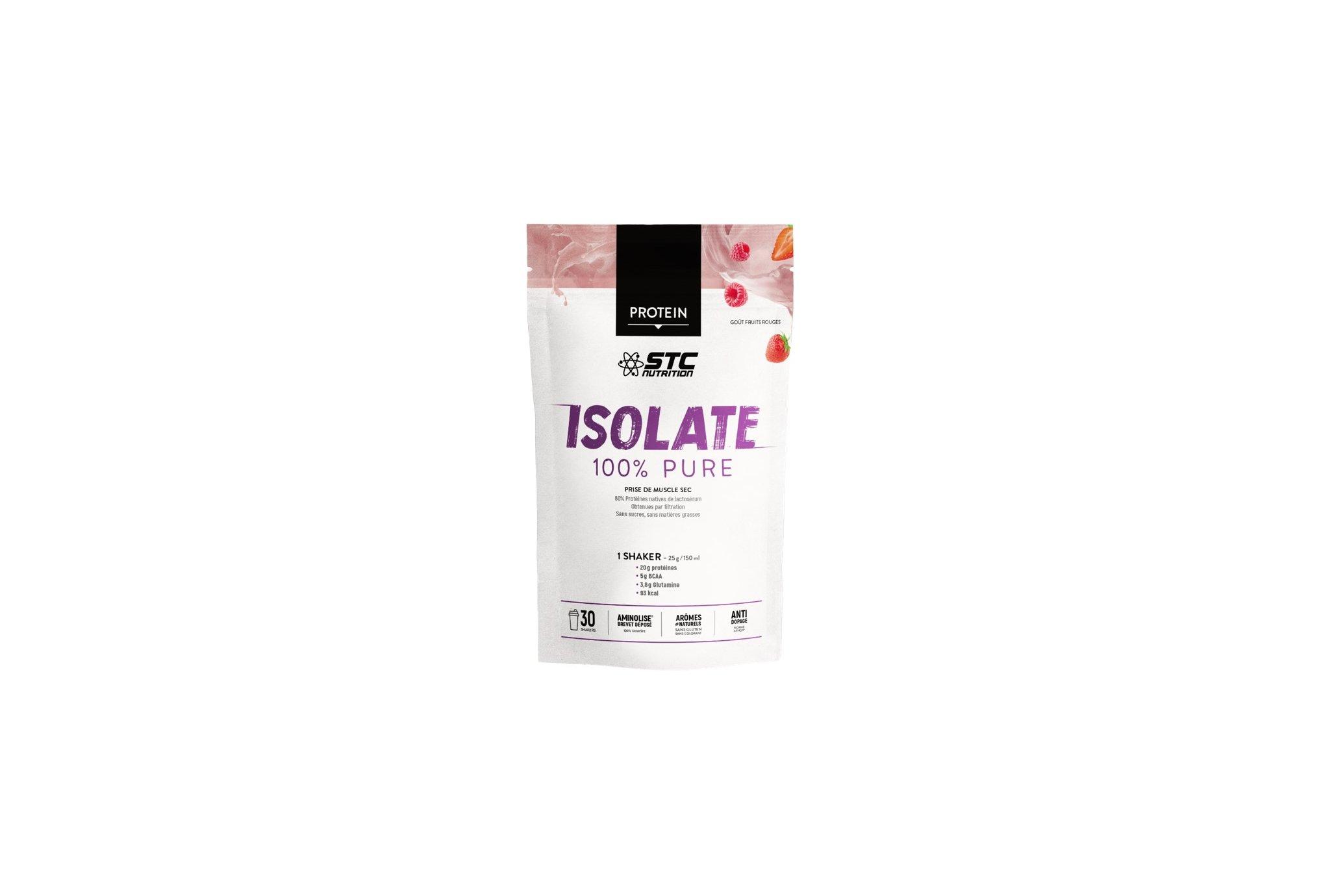 STC Nutrition Premium Isolate 750 g - Fruits rouges Diététique Protéines / récupération