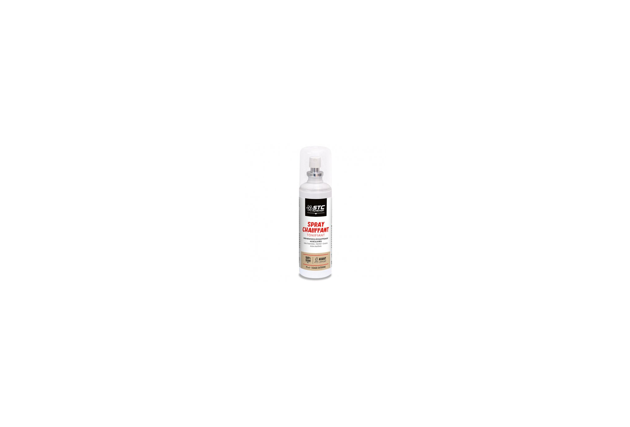 STC Nutrition Spray Chauffant Tonifiant Protection musculaire & articulaire