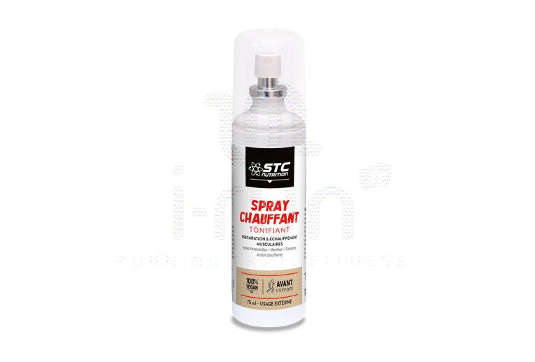 STC Nutrition Spray calentador tonificante
