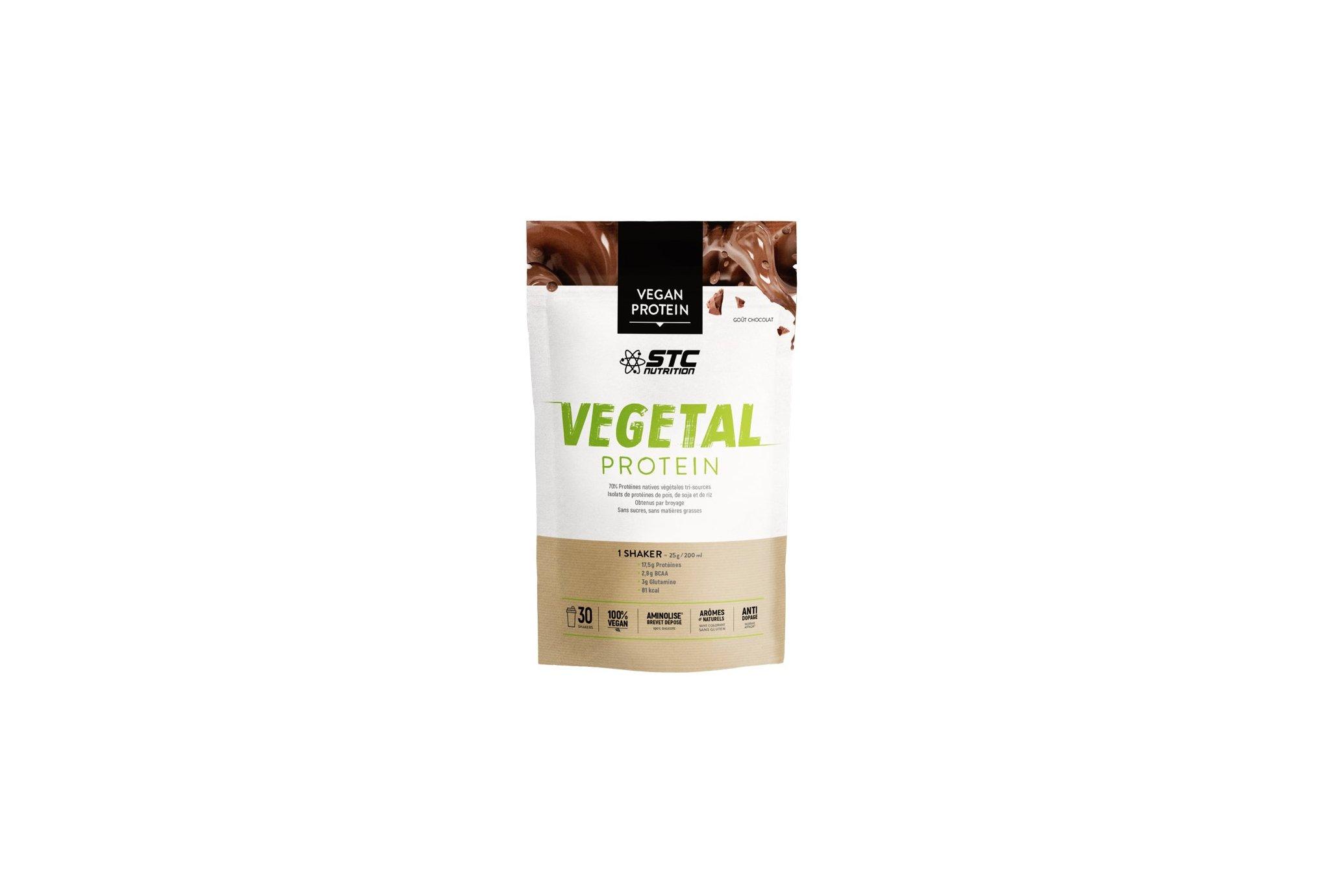 STC Nutrition Vegetal Protein 750g - Chocolat Diététique Protéines / récupération