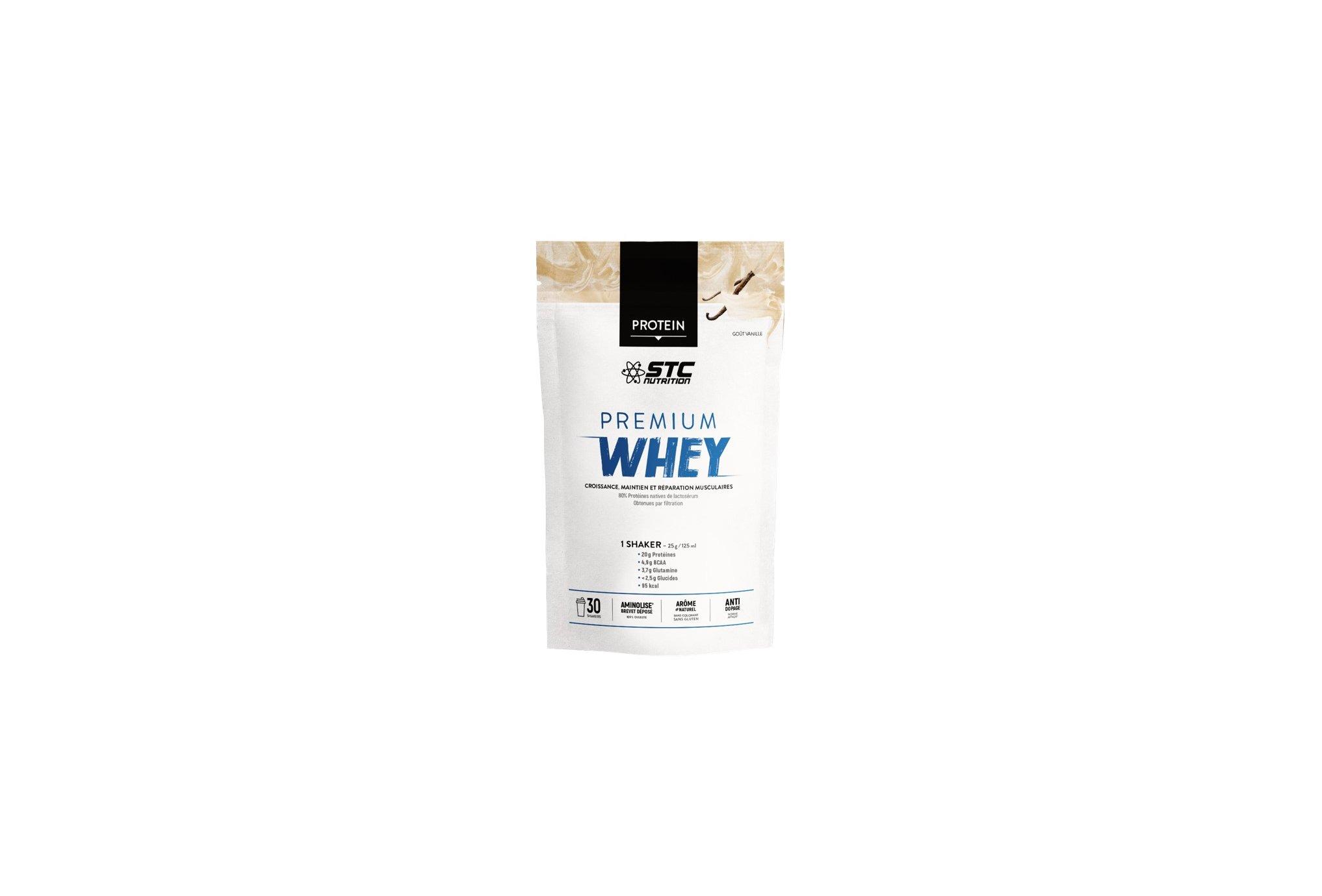 STC Nutrition Whey Pure Premium Protein vanille 750 g Diététique Protéines / récupération