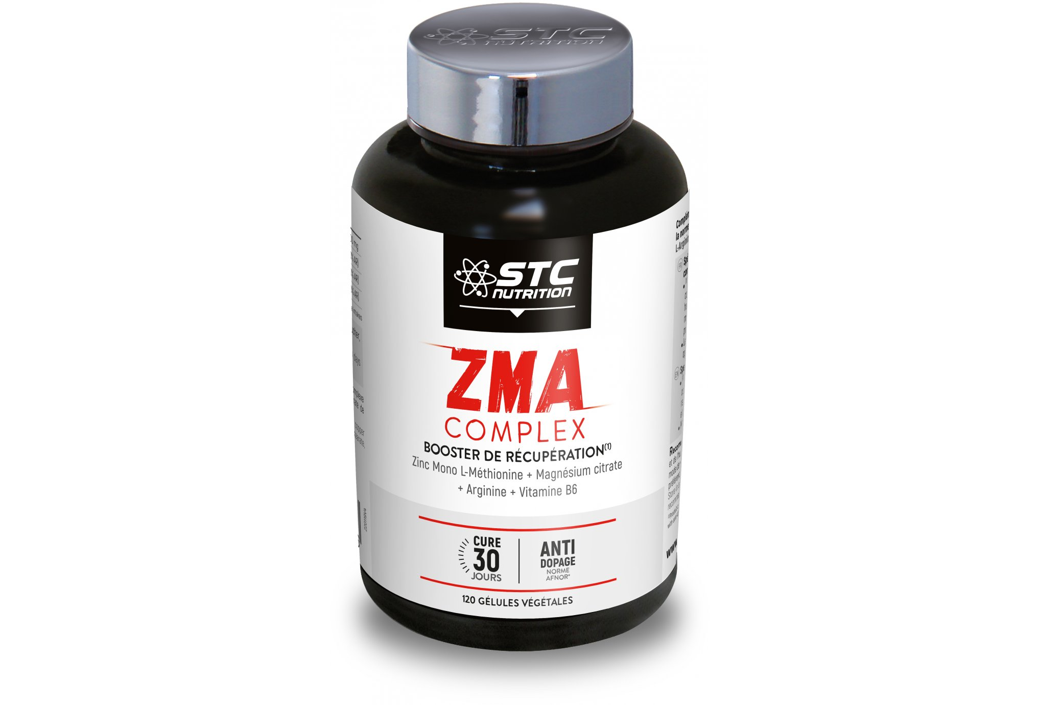 STC Nutrition ZMA Complex 120 gélules Diététique Compléments