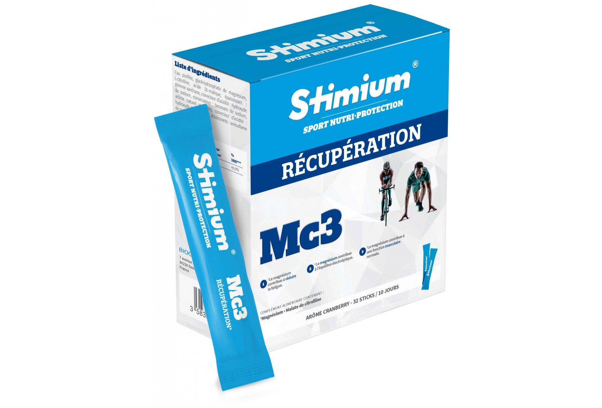 Stimium Etui 32 sticks Récupération MC3 Diététique Gels
