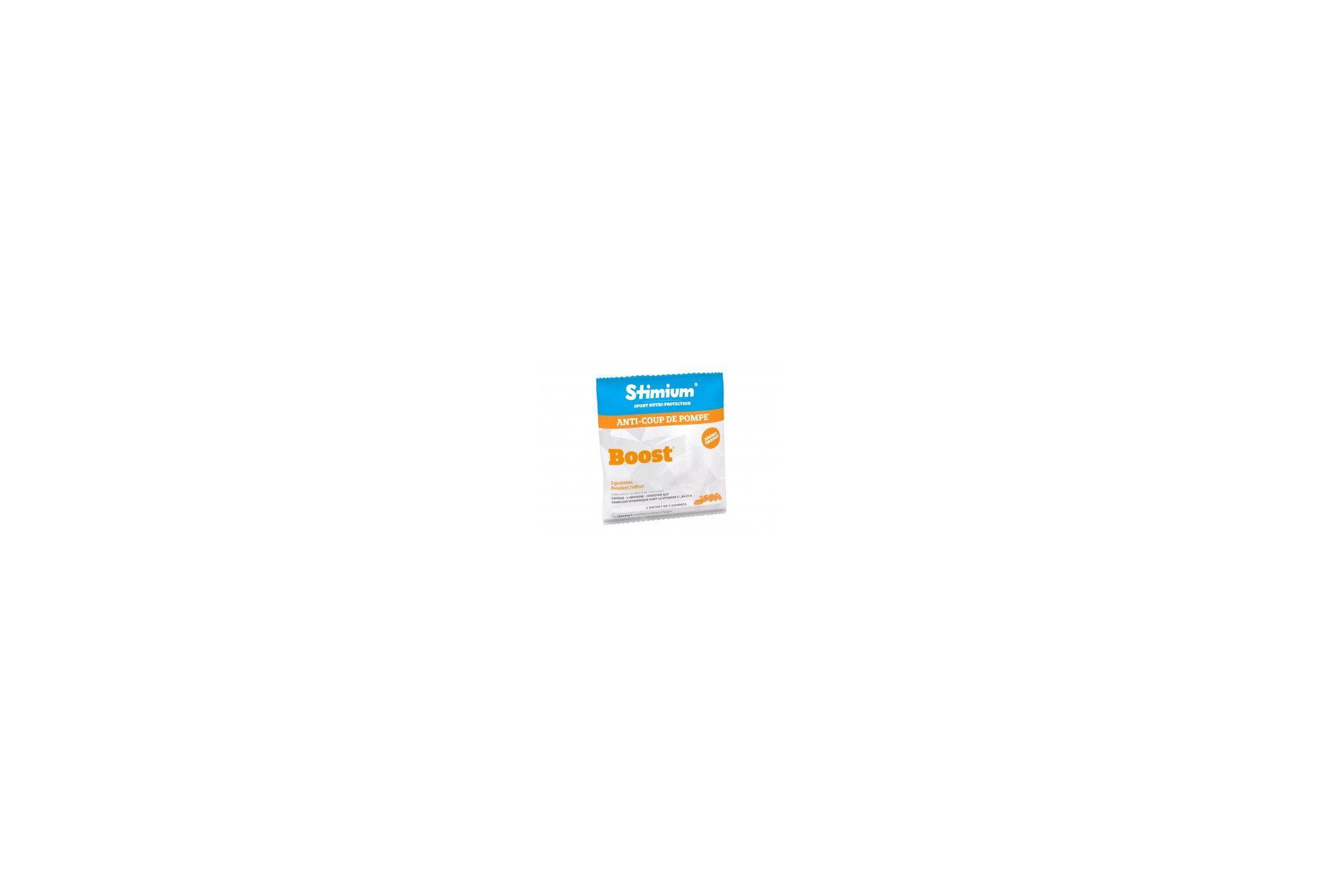 Stimium Pack 4 Sachet 5 gommes Boost - Orange Diététique Barres