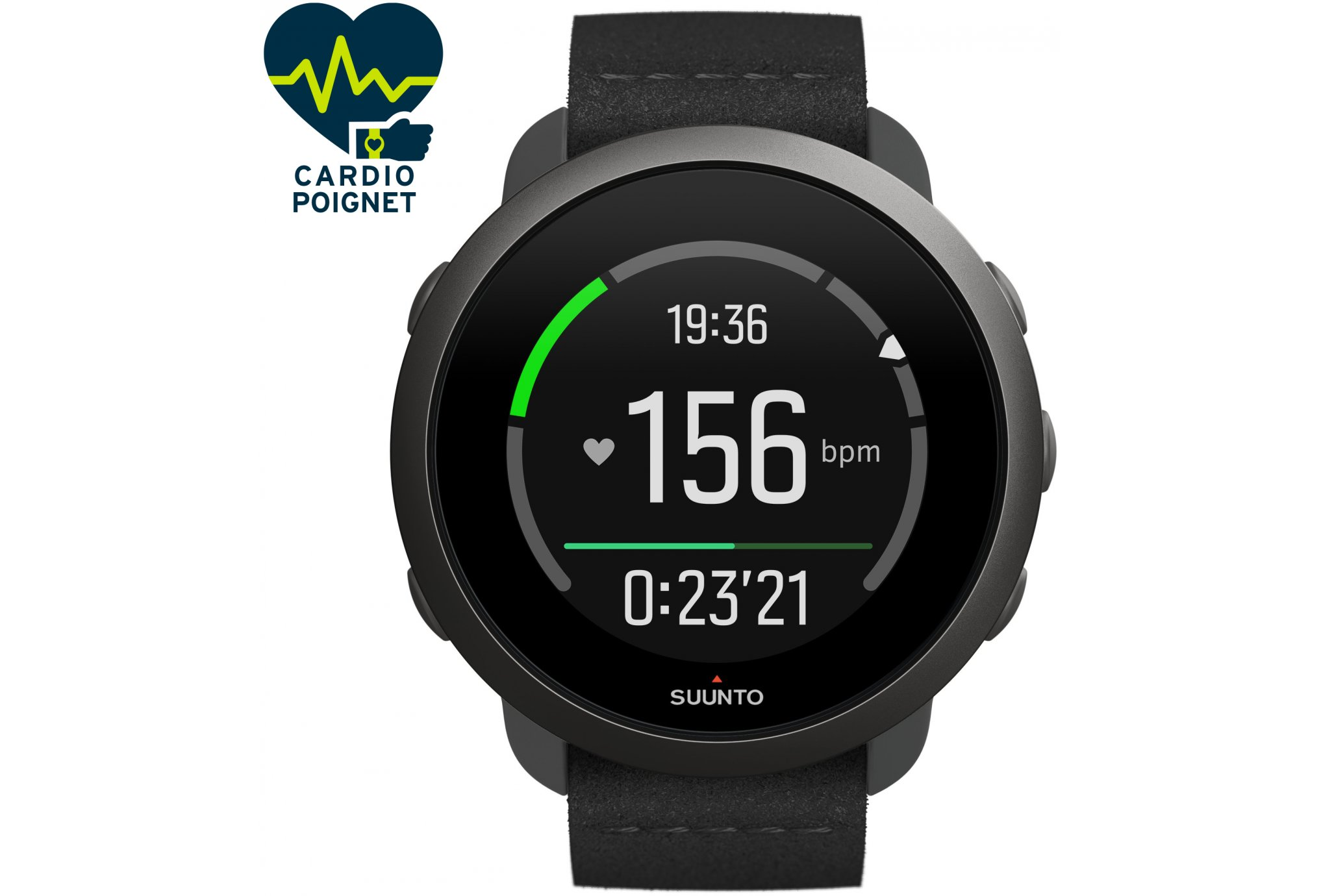 Suunto 3 All Black Cardio-Gps