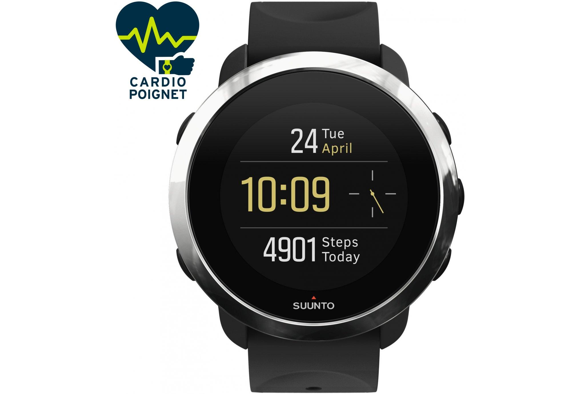 Suunto 3 Fitness Black Cardio-Gps