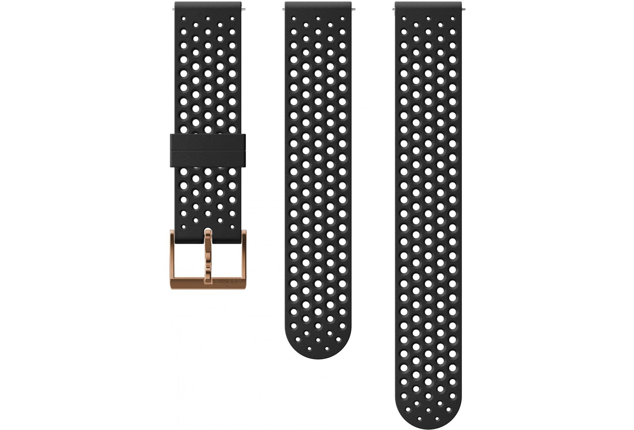 Suunto Bracelet Athletic 1 Copper Silicone - 20 mm Accessoires montres/ Bracelets