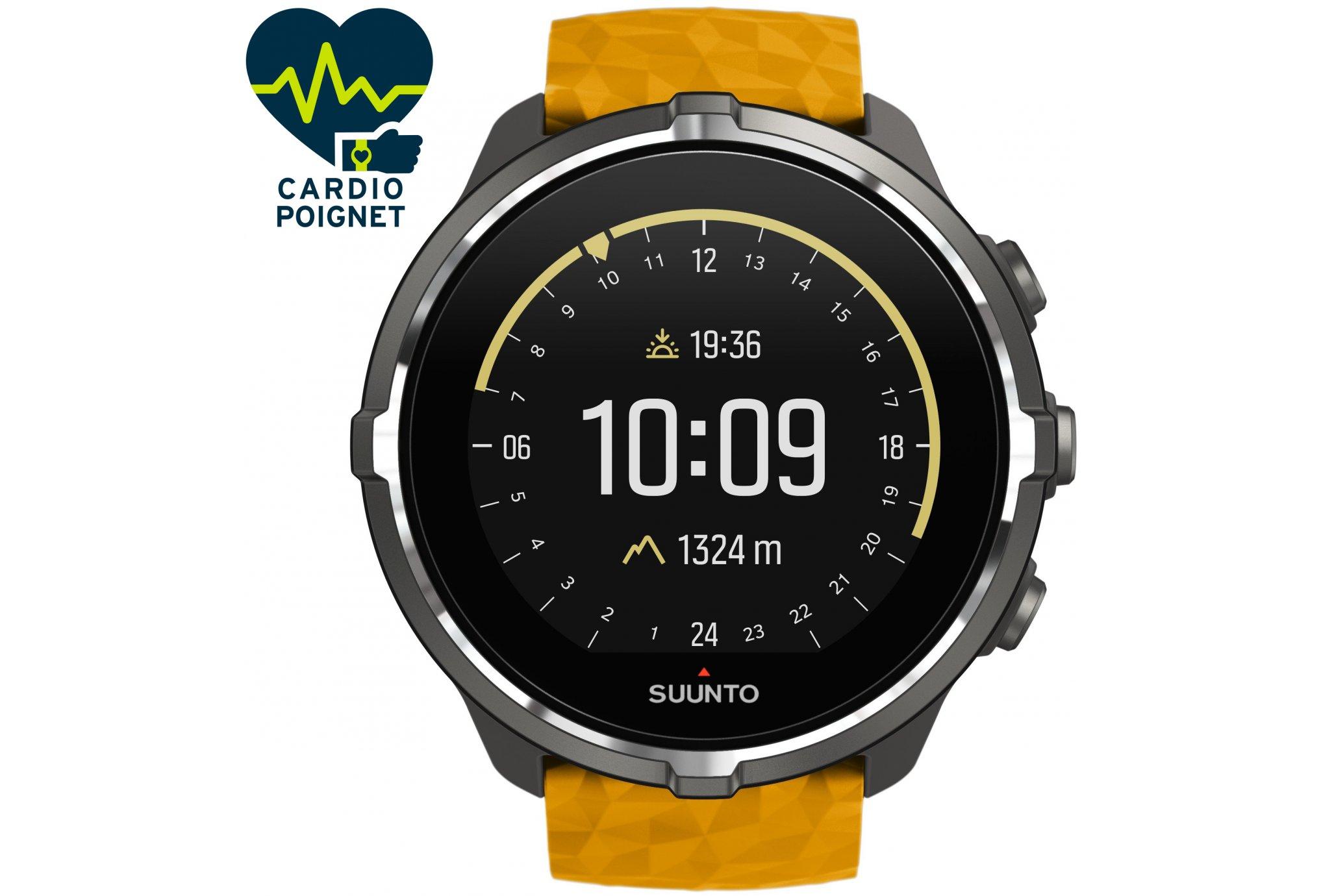 Suunto Spartan Sport Wrist HR Baro Amber Cardio-Gps