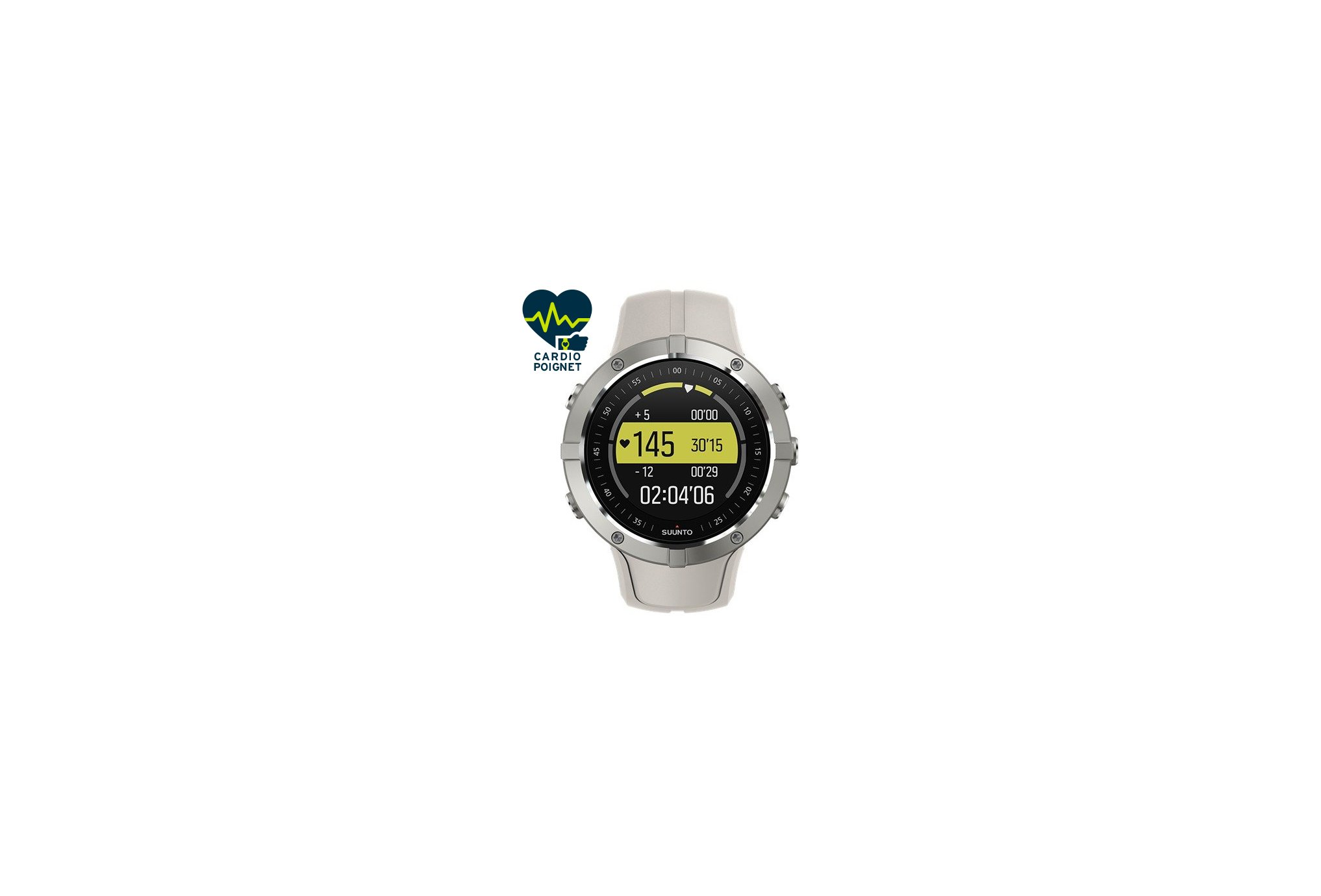 Suunto Reloj GPS Spartan Trainer Wrist HR Sandstone Cardio-Gps