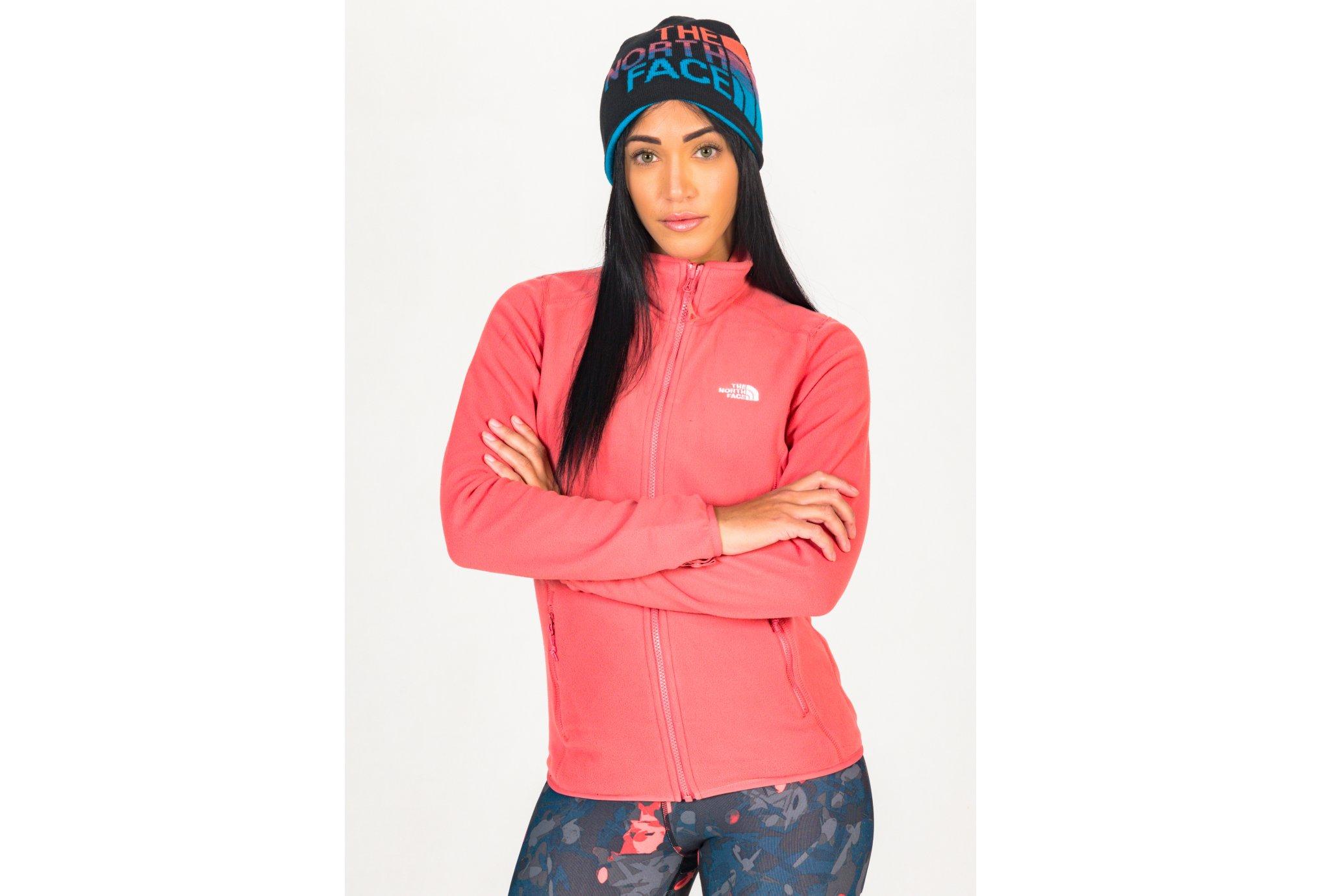 The North Face 100 Glacier Full Zip W vêtement running femme