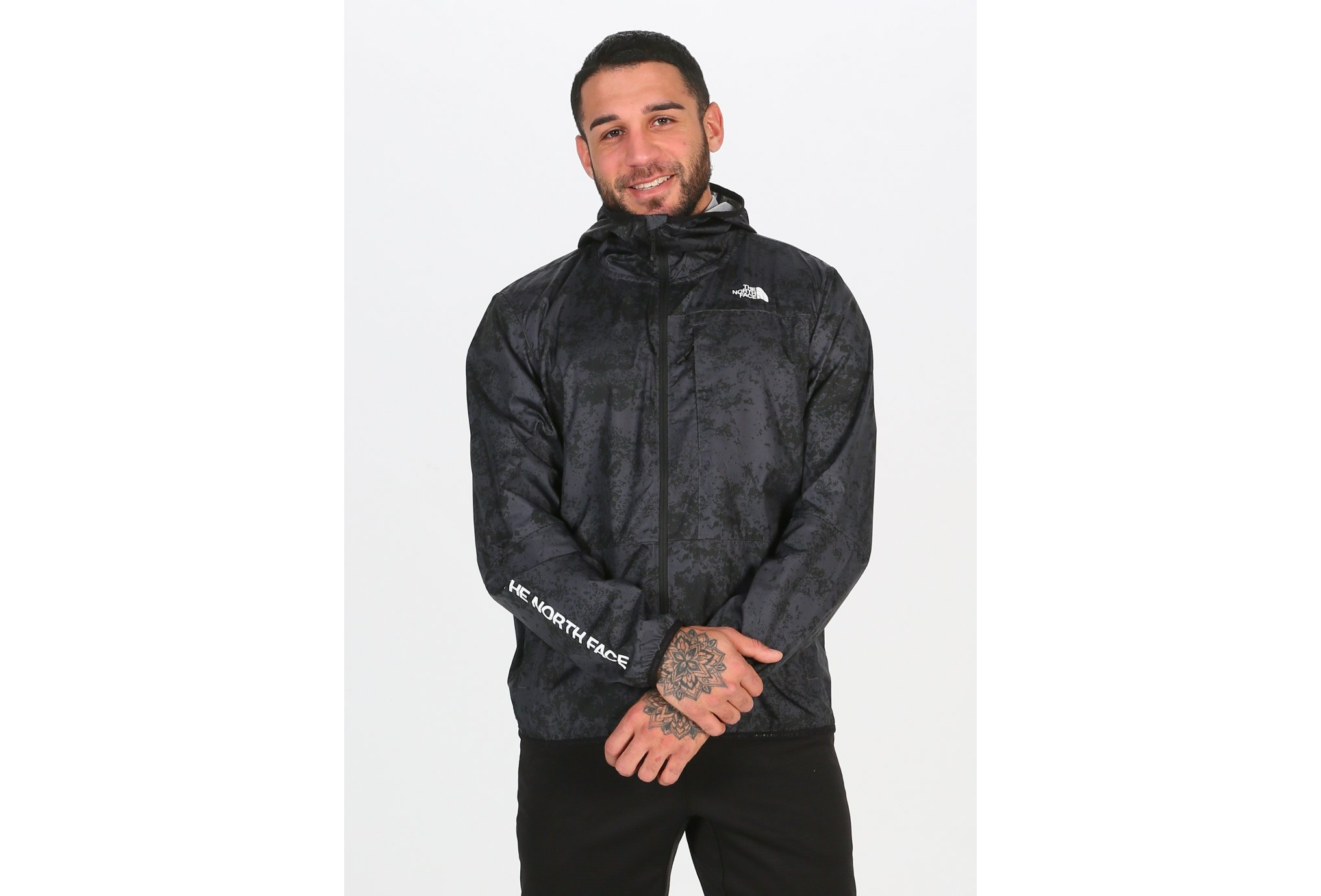 The North Face Train N logo Wind M vêtement running homme