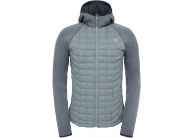 1b79548f6f The North Face Upholder Thermoball Hybrid M homme Gris/argent pas cher