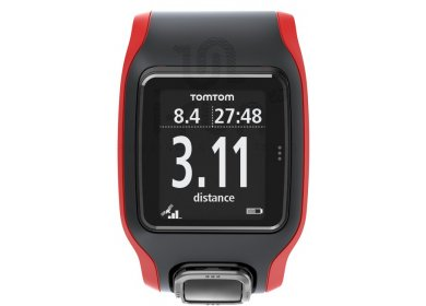 tomtom runner montre cardio gps noir pas cher. Black Bedroom Furniture Sets. Home Design Ideas