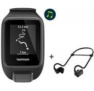 Tomtom Spark 3 Music + Casque Bluetooth - Small