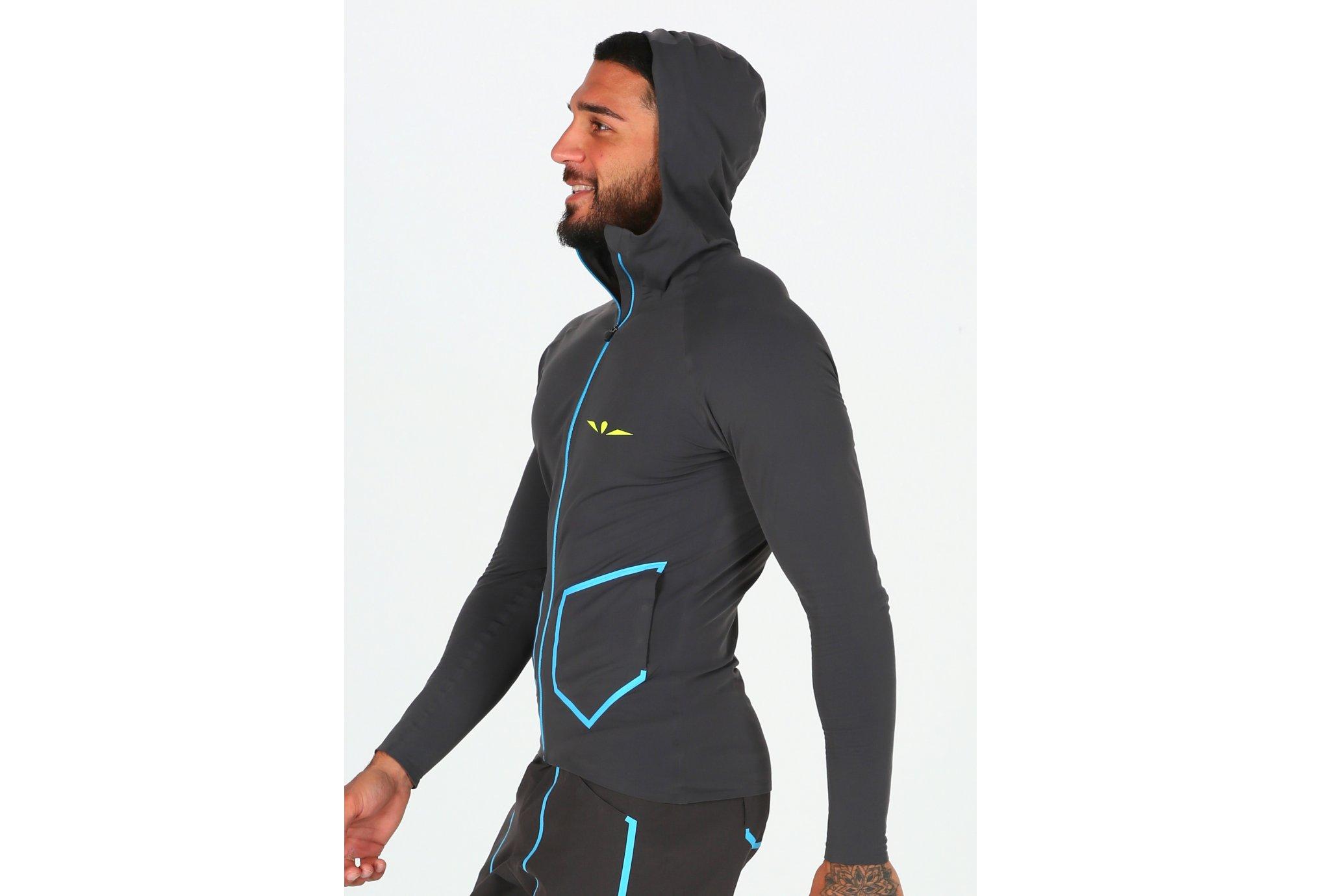 Uglow Hooded Zip M Diététique Vêtements homme