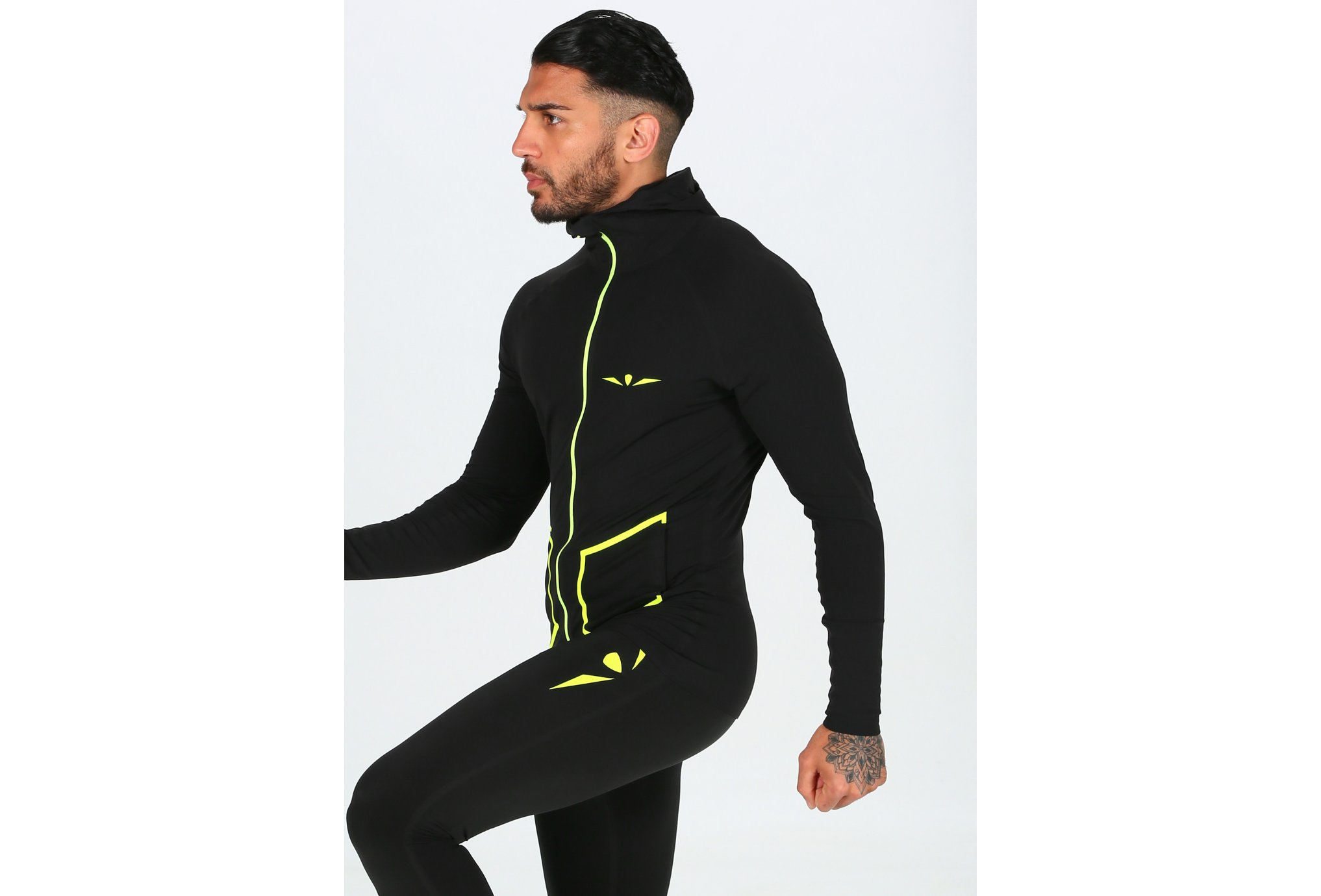 Uglow Hooded Zip M vêtement running homme