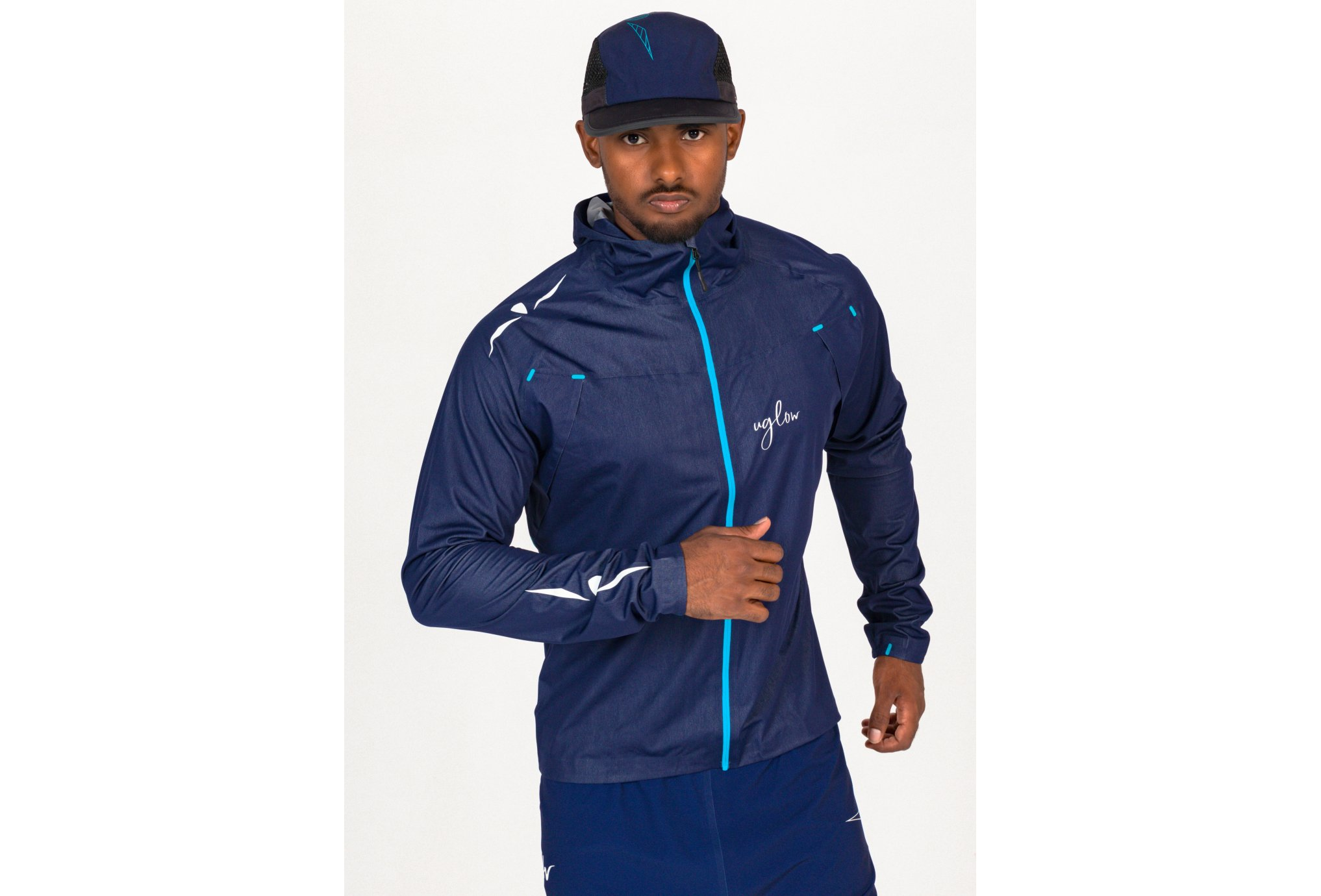 Uglow Rain Jacket-X M vêtement running homme