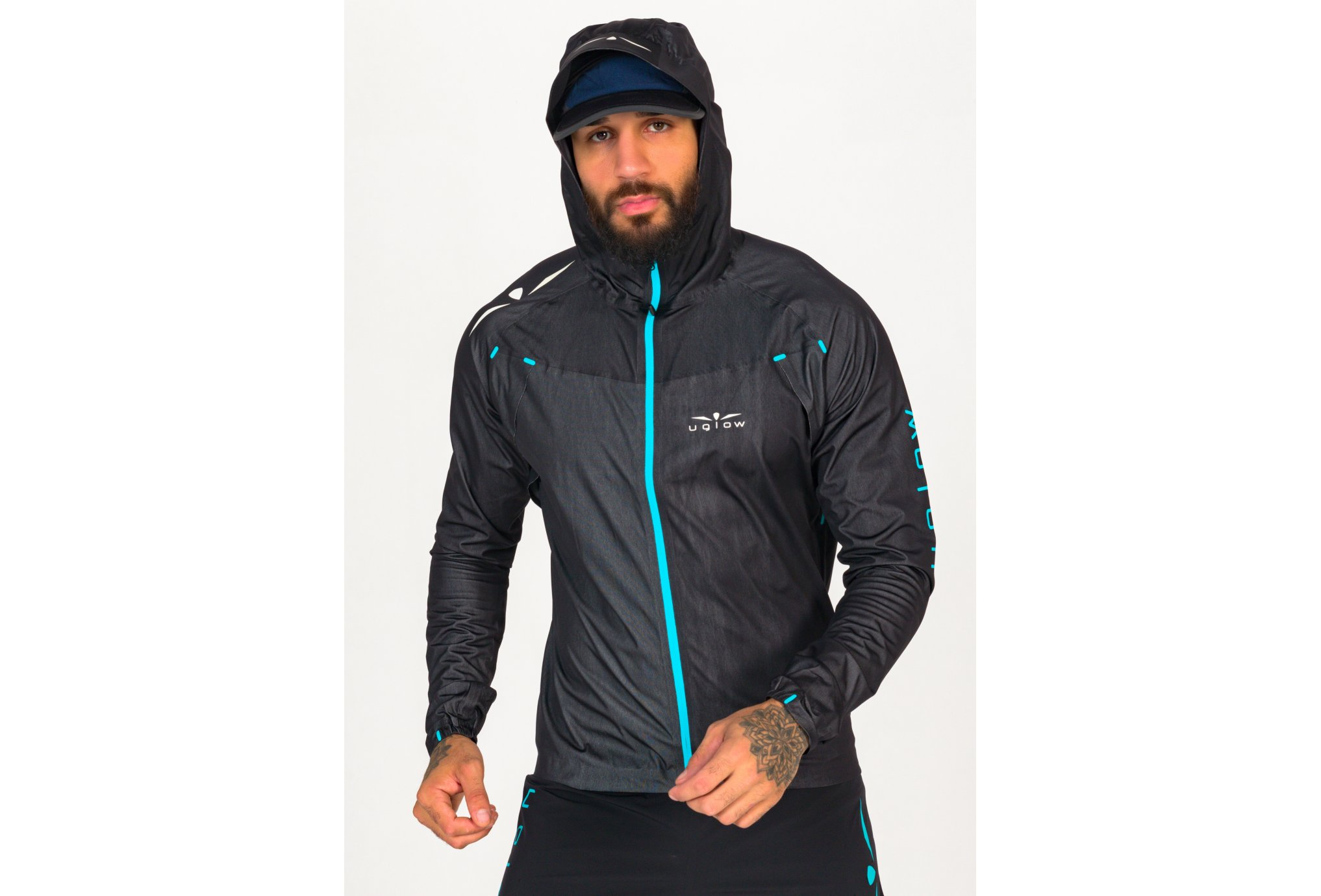 Uglow Rain Jacket X M vêtement running homme