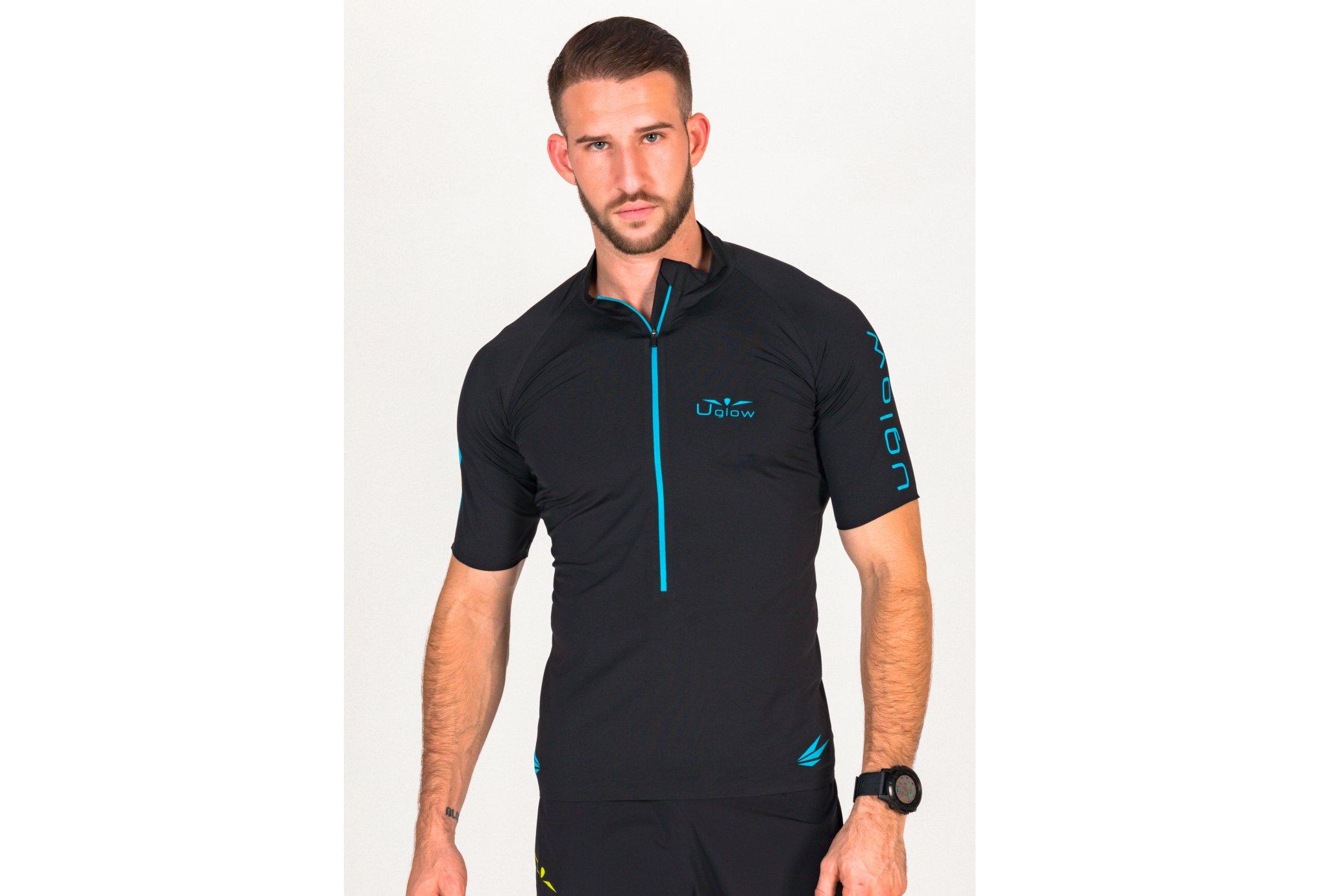 Uglow Ultra 3/4 Zip M Diététique Vêtements homme