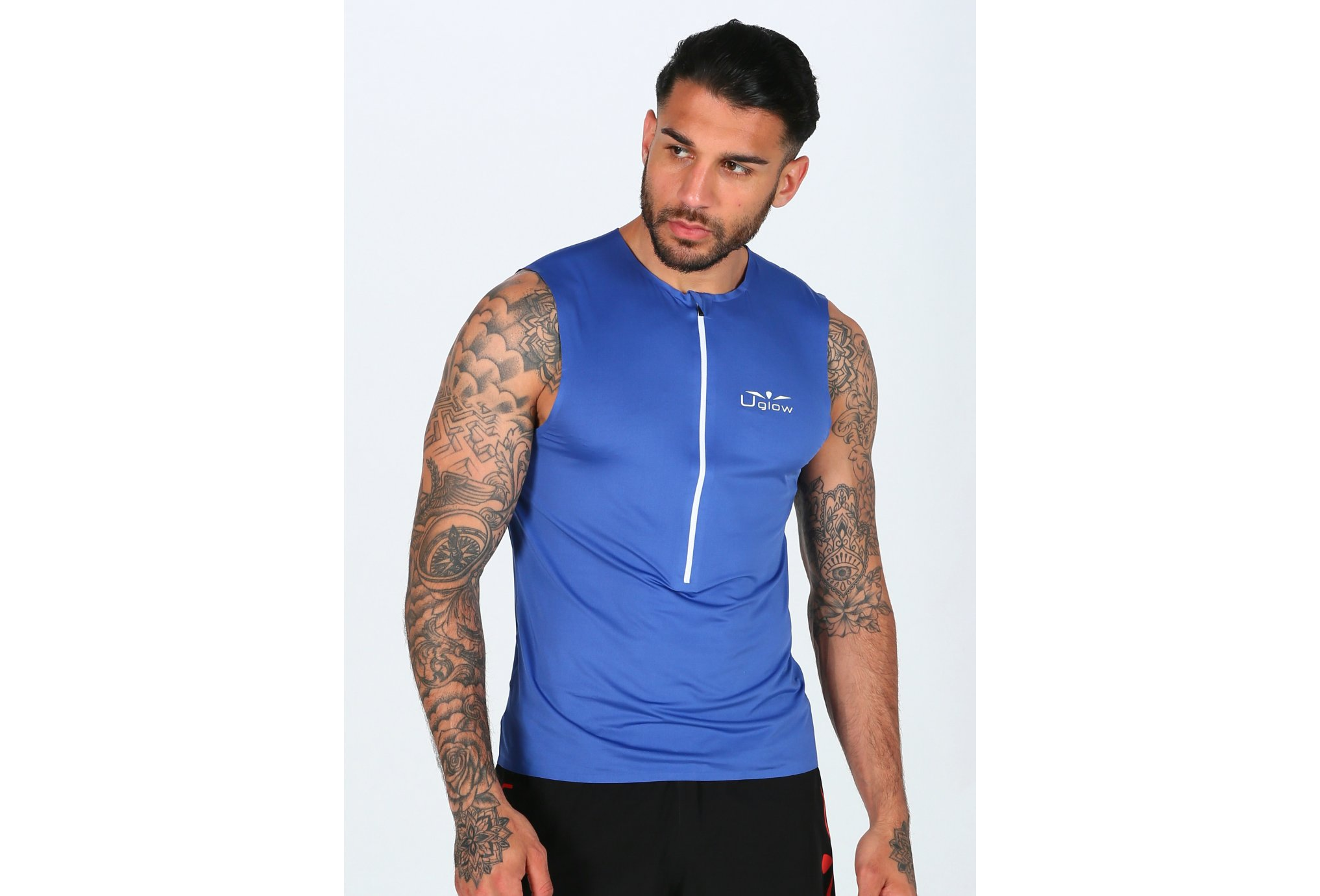 Uglow Zip M vêtement running homme