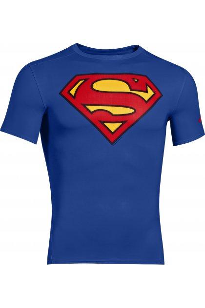 Under Armour Camiseta manga corta Compression Alter Ego Superman