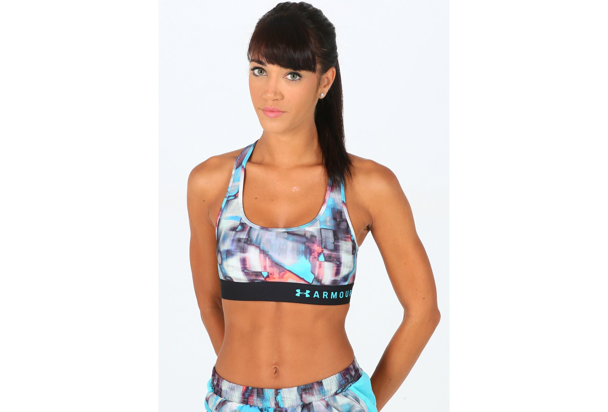 Under Armour Armour Mid Crossback Printed vêtement running femme