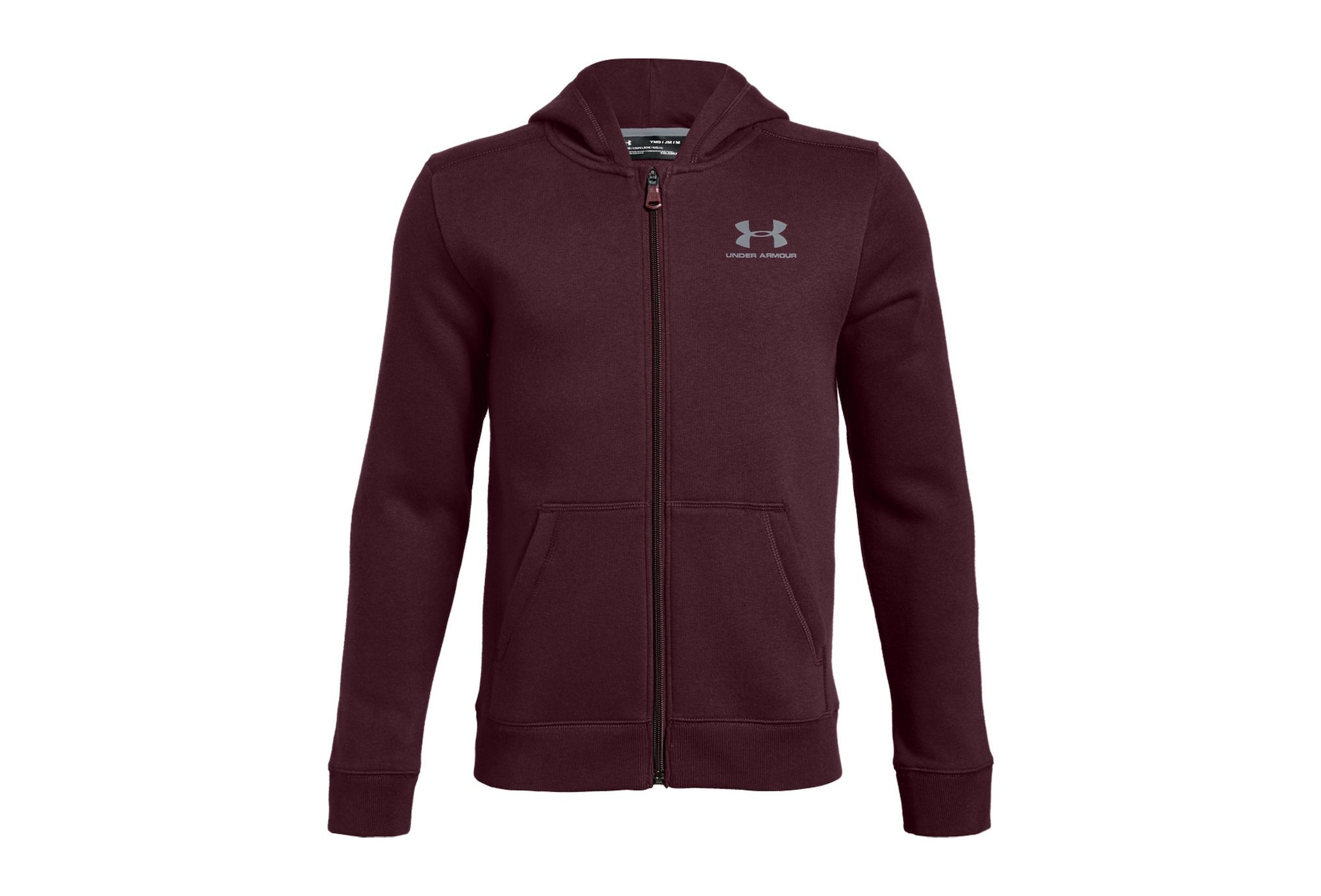 Under Armour Cotton Fleece Full Zip Junior vêtement running homme