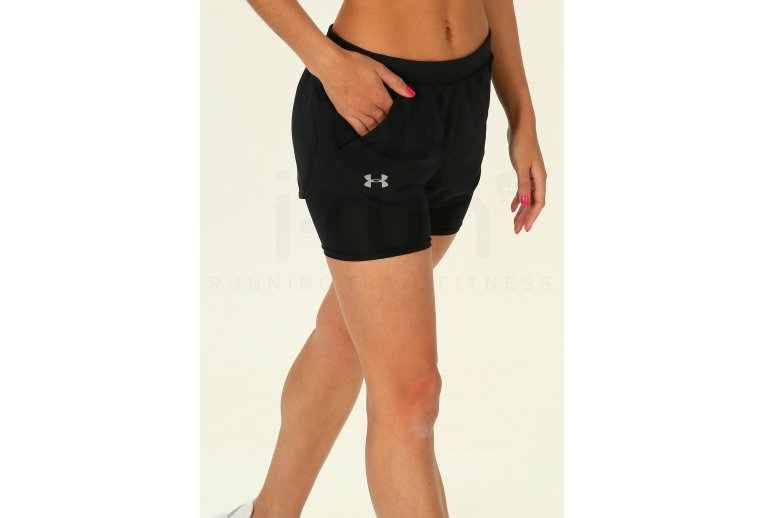 Under Armour Fly by Mini Pantal/ón Corto Mujer