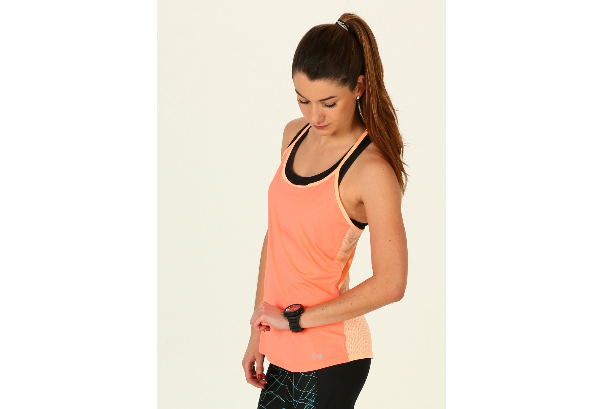 Under Armour Fly By Racerback W Diététique Vêtements femme