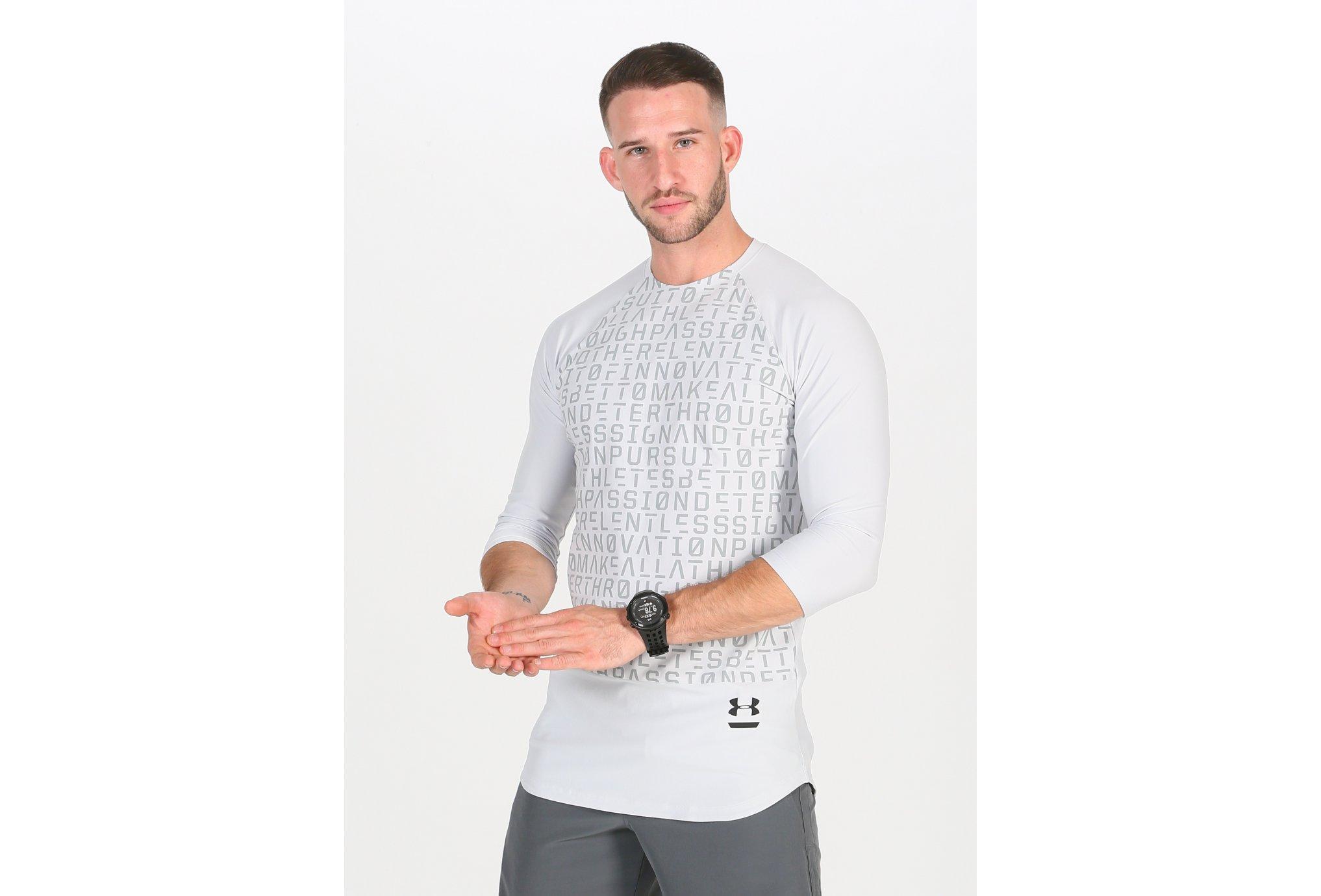 Under Armour Graphic 3/4 M vêtement running homme
