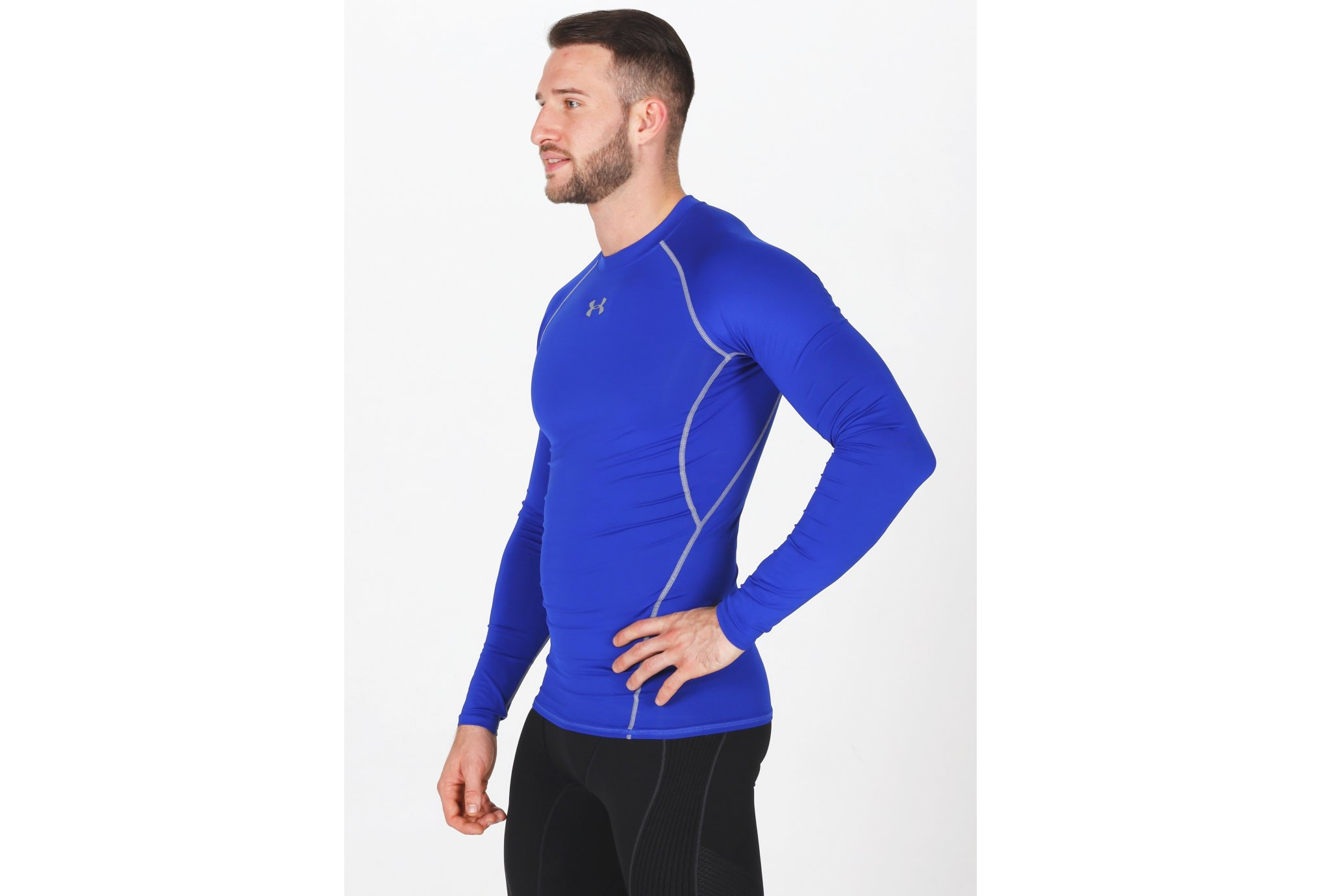 Under Armour Maillot Compression HeatGear M vêtement running homme