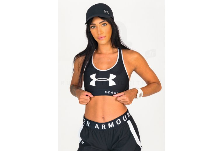 Under Armour Mid Keyhole Graphic W