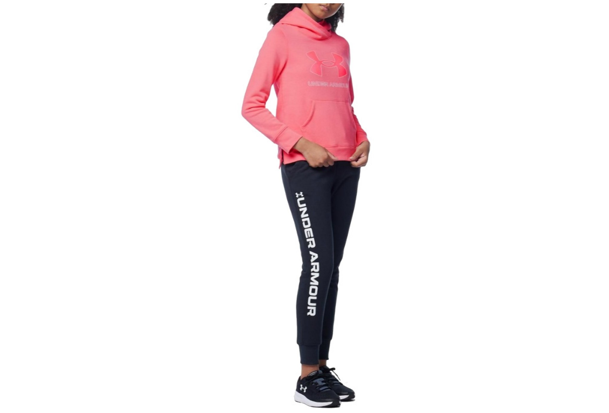 Under Armour Rival Fleece Logo Fille vêtement running femme