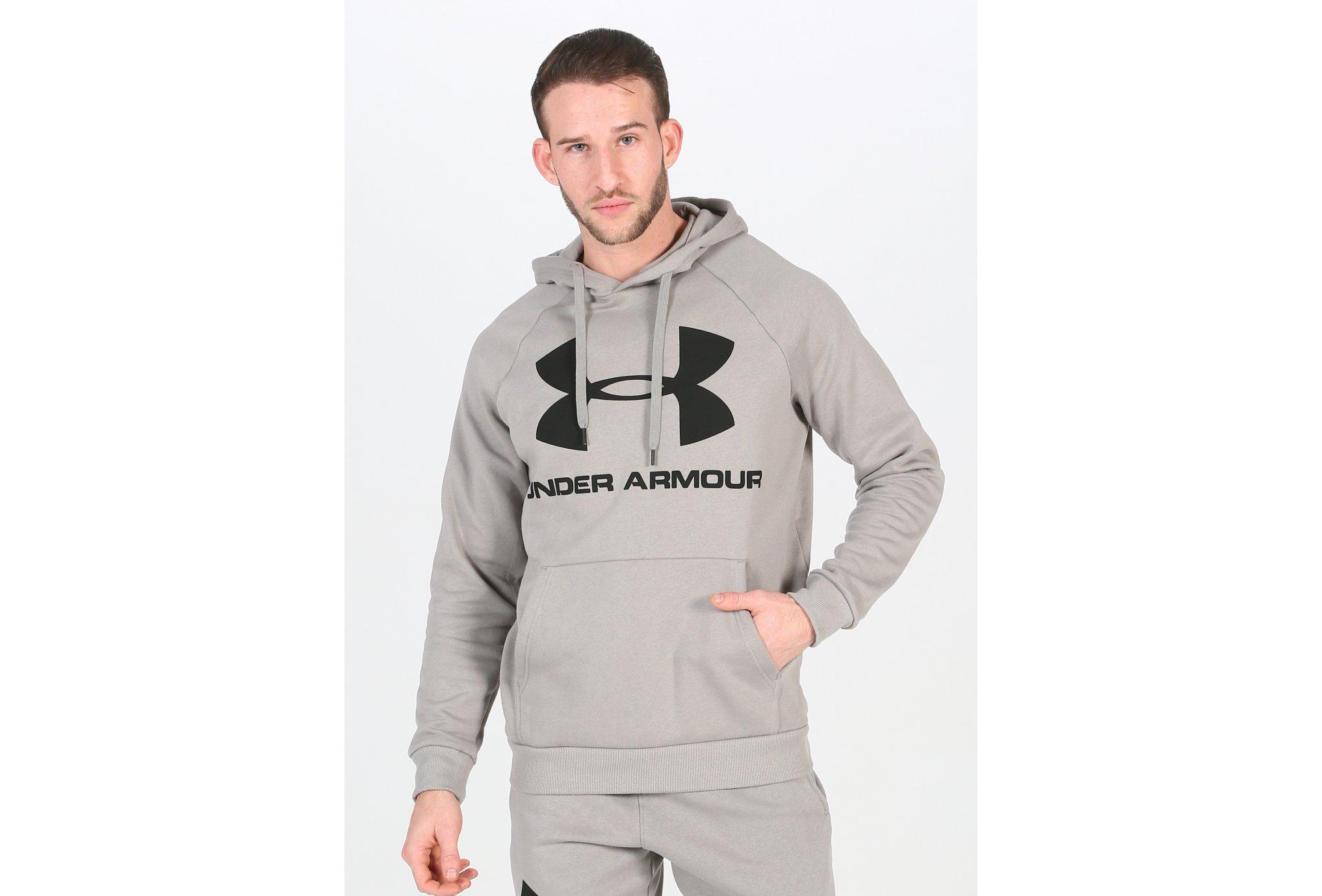 Under Armour Rival Fleece Logo M Diététique Vêtements homme
