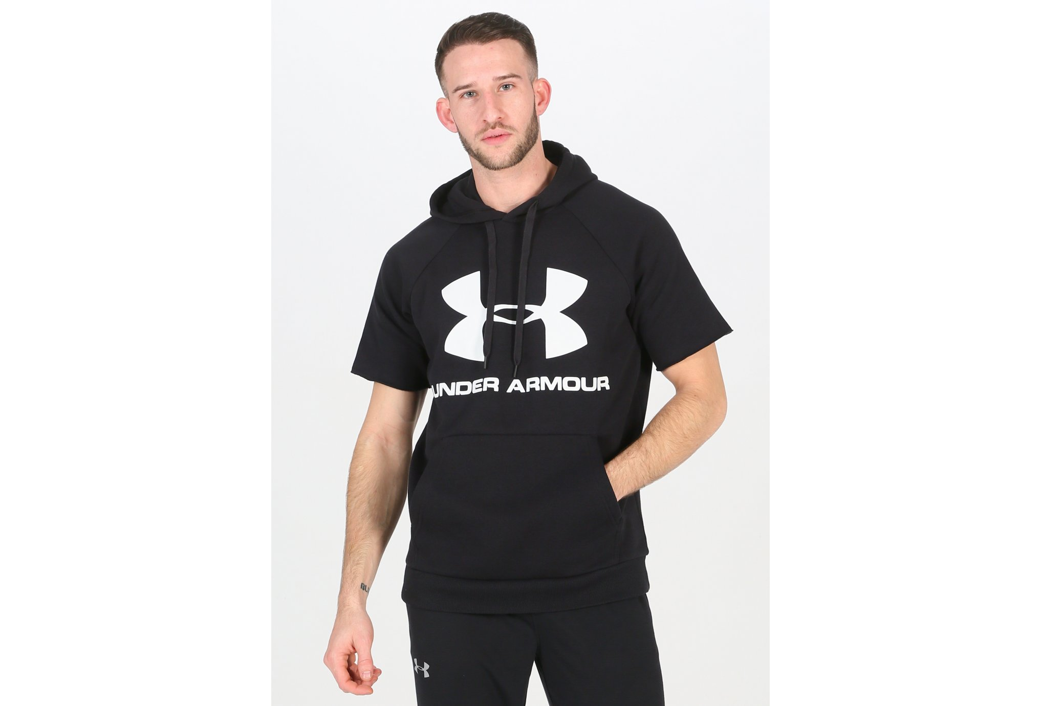 Under Armour Rival Fleece Logo M Diététique Vêtements homme