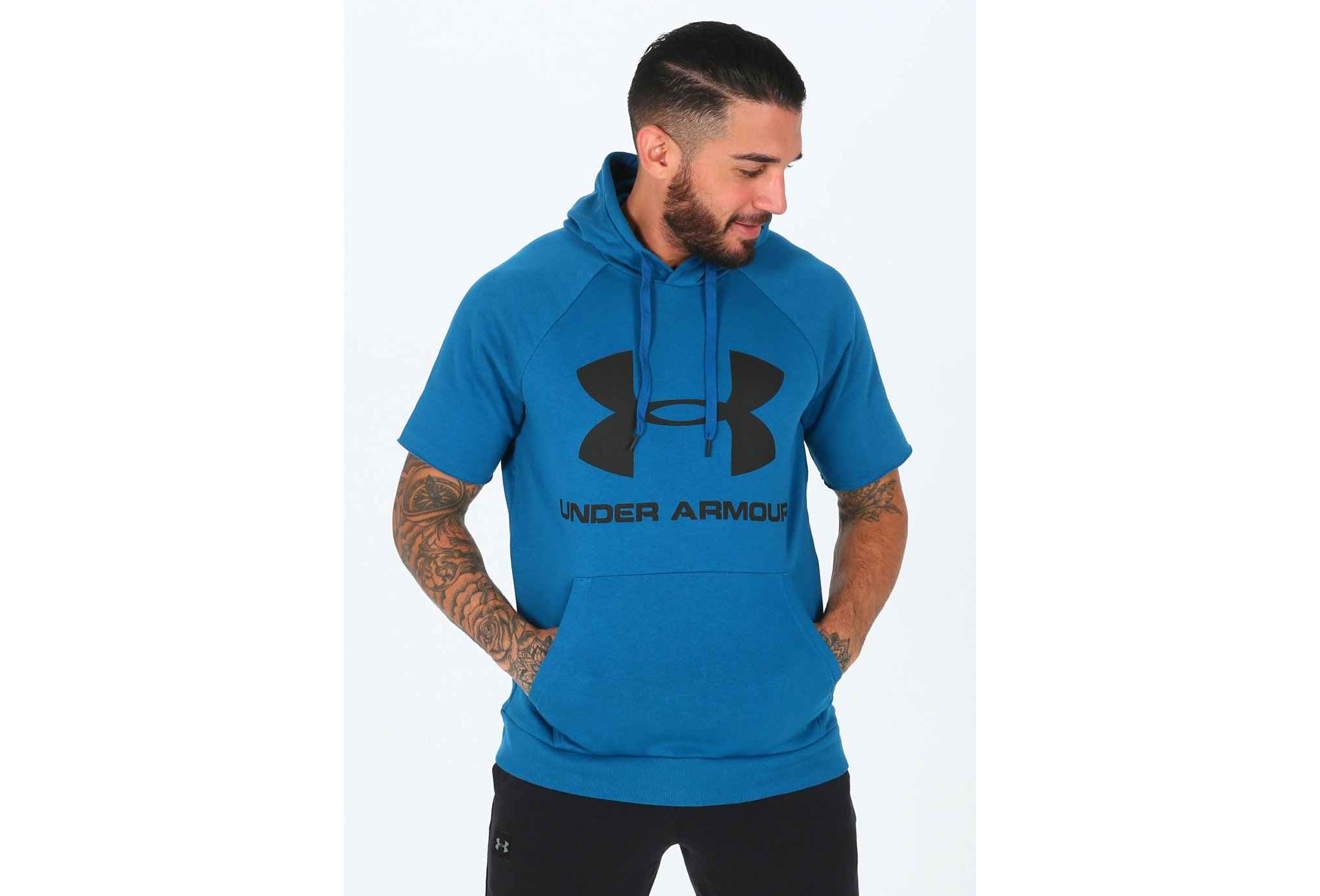 Under Armour Rival Fleece Logo M vêtement running homme