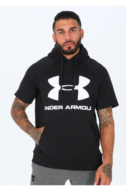 Under Armour sudadera manga corta Rival Fleece Logo