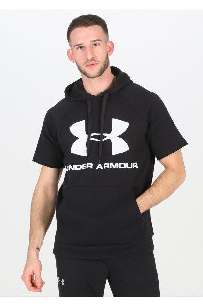 Under Armour sudadera manga corta Rival Fleece Logo