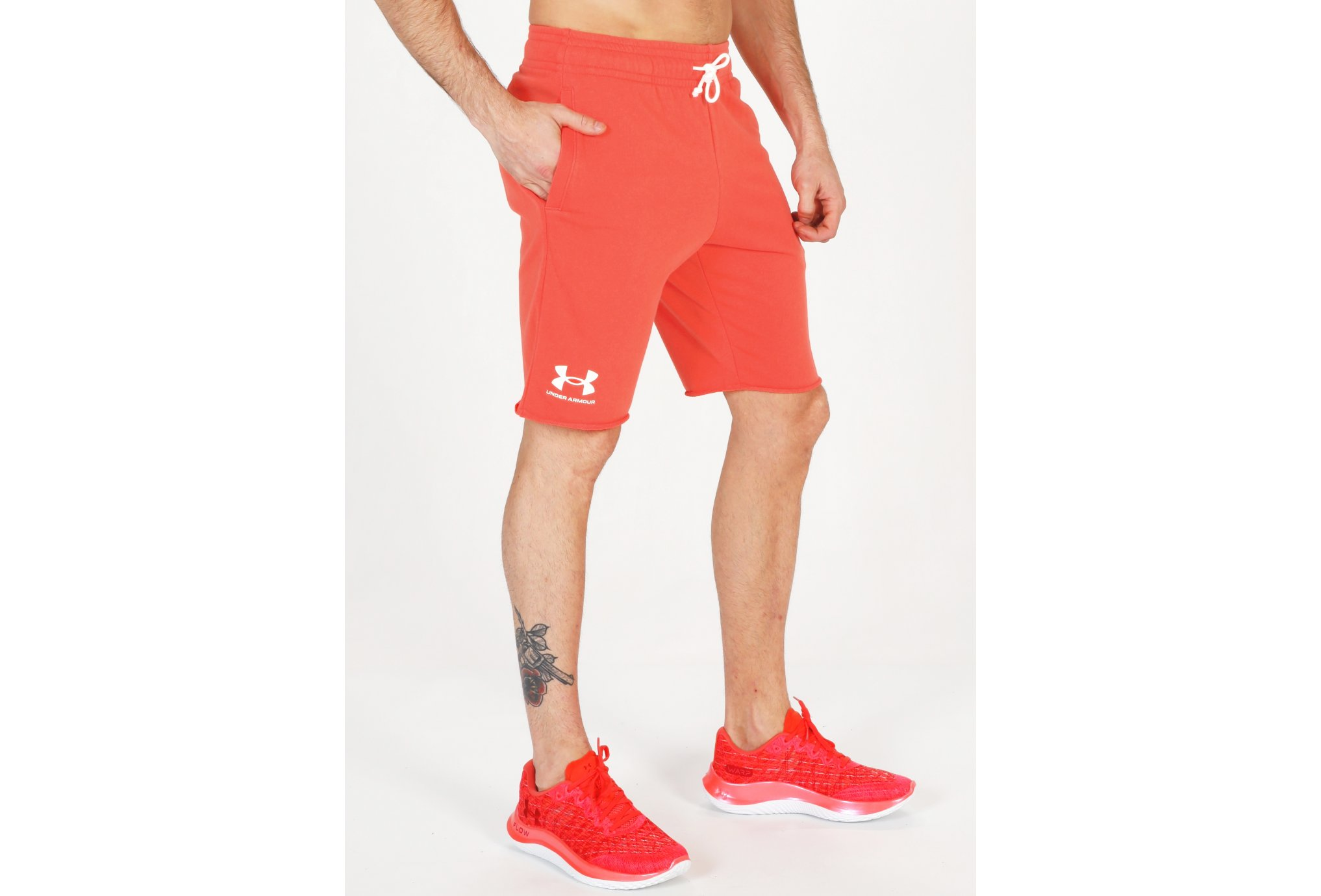 Under Armour Rival Terry M vêtement running homme