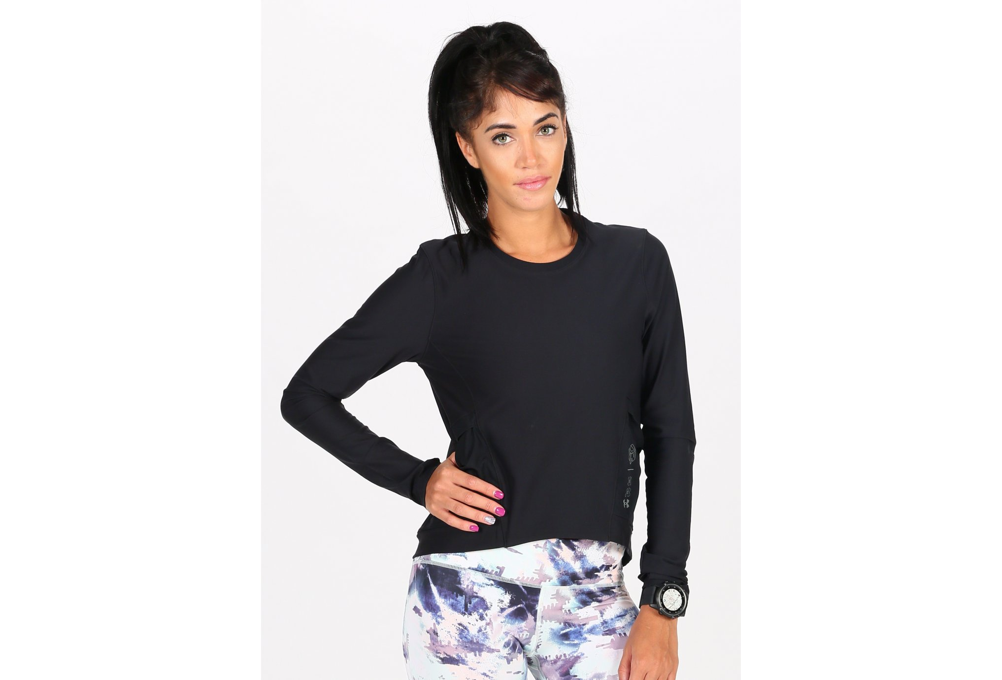 Under Armour Run Anywhere Cropped W vêtement running femme