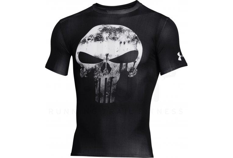 Posdata Contradecir servilleta  Under Armour Camiseta manga corta de compresión Alter Ego Punisher en  promoción | Hombre Carrera Under Armour Ropa