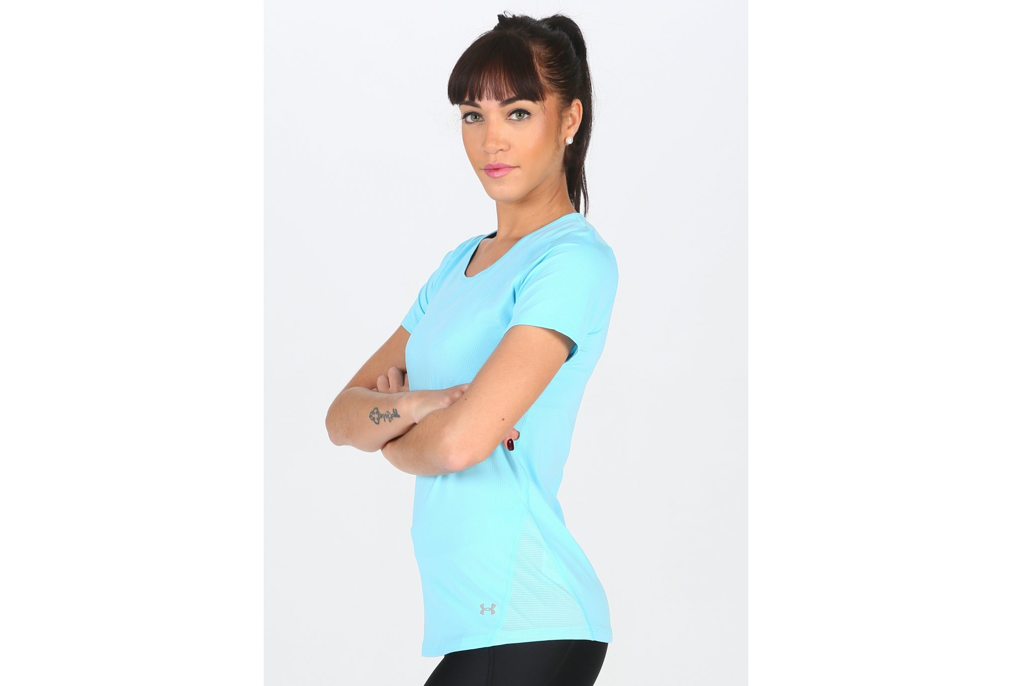 Under Armour Tee-shirt HeatGear CoolSwitch W Diététique Vêtements femme