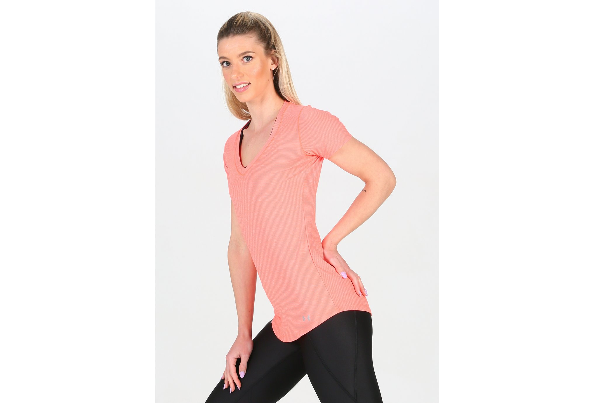 Under Armour Tee-shirt Perfect Pace W Diététique Vêtements femme