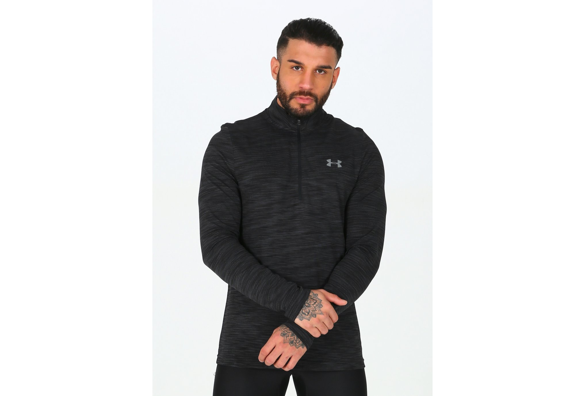 Under Armour Vanish Seamless 1/2 zip M Diététique Vêtements homme