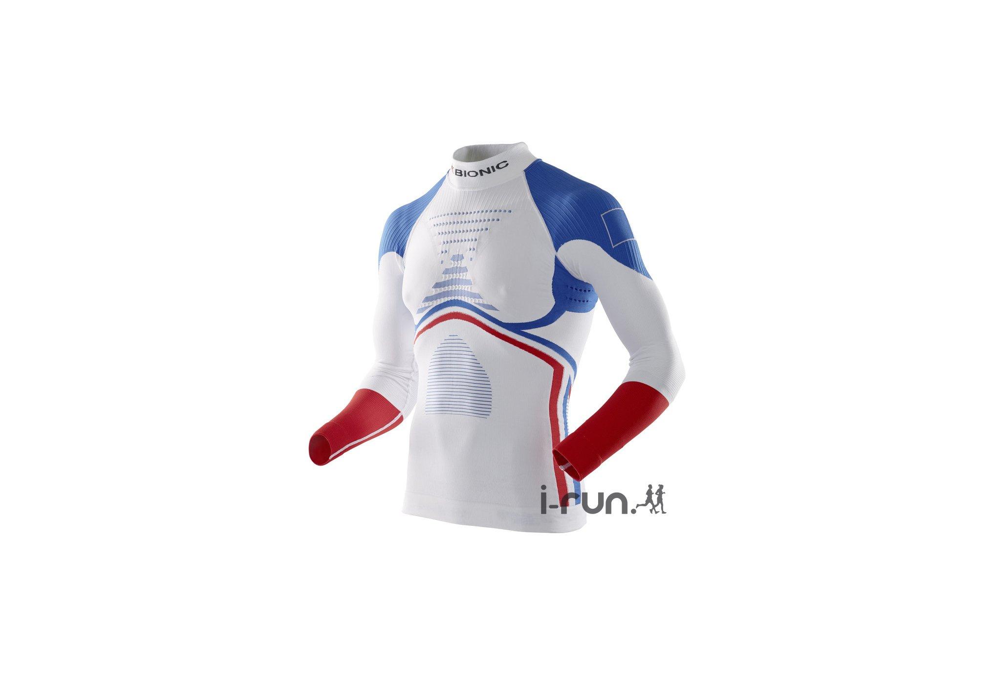 X-Bionic Energy Accumulator Evo Patriot Edition M vêtement running homme