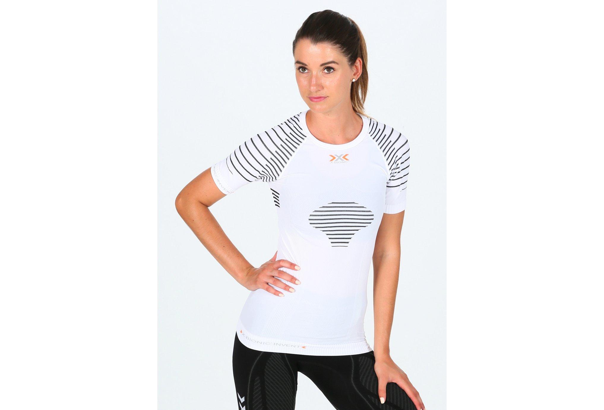 X-Bionic Tee-shirt Invent W vêtement running femme