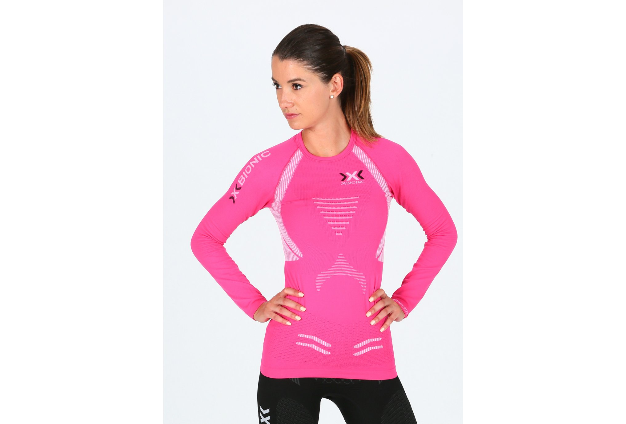X-Bionic Tee-Shirt The Trick Running W vêtement running femme
